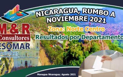 Nicaragua, Rumbo a Noviembre 2021, Zona Norte Centro